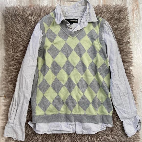 blue guru Other - Button Dwn/Sweater